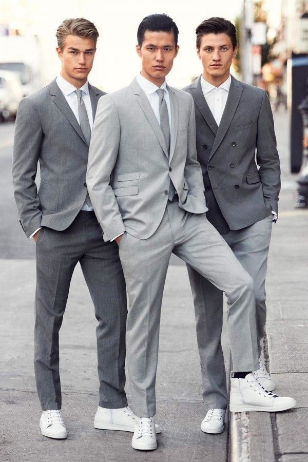How to Wear a Grey Suit (340 looks) | Men's Fashion