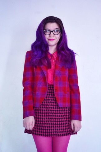How to Wear a Burgundy Blazer For Women (93 looks   outfits ... a62d1ca31