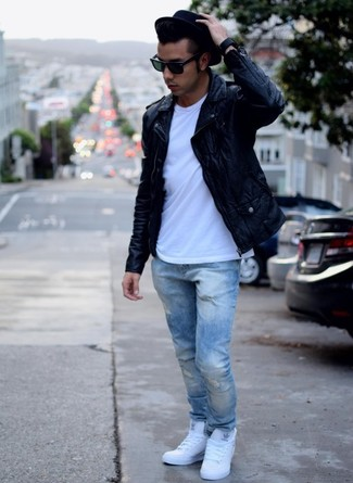 e13fc168d22 How to Wear Light Blue Jeans For Men (385 looks   outfits)