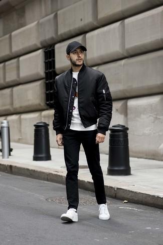 weaar black leather sneakers