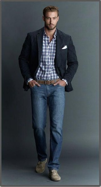 c6c08960c0 How To Wear a Blazer With Sneakers For Men (341 looks   outfits ...