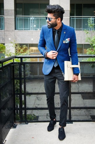 How To Wear A Blue Blazer With Black Jeans For Men 22 Looks