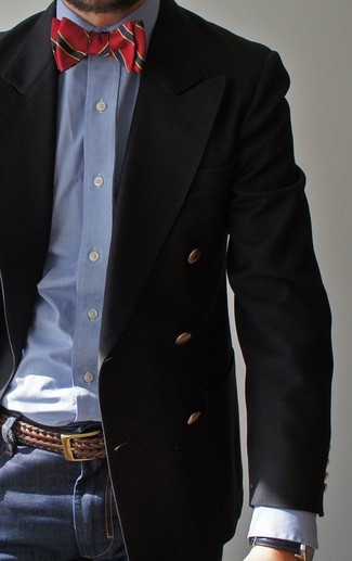 Comme Des Garons Shirt Double Breasted Blazer