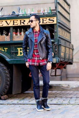 Classic Fit Plaid Sport Shirt