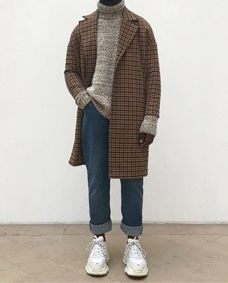 Checked Mac Coat