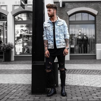 How To Wear Black Jeans With Black Boots 127 Looks Outfits