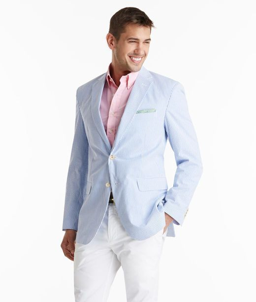 How To Wear a Light Blue Blazer With White Chinos   Men's Fashion