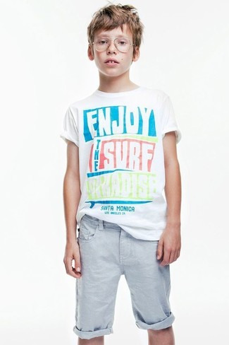 Marcelo Burlon County Of Milan Kids Bird Print T Shirt