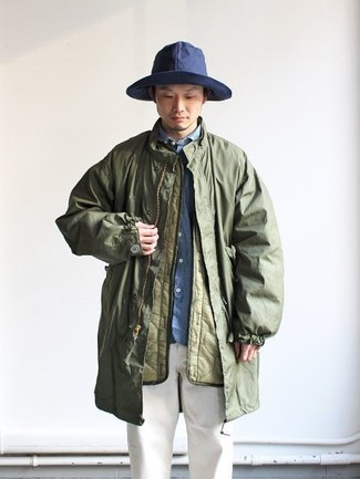 Camouflage Event Hooded Coat Gmh 003d