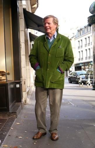 Solid Linen Sport Coat