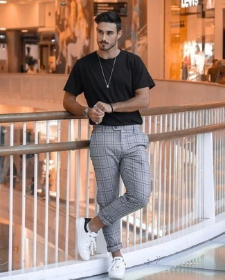 Which Sneakers To Wear With Plaid Pants