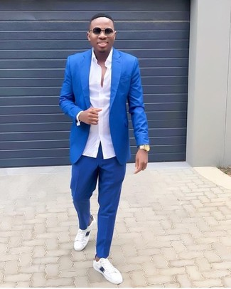 How To Wear A Blue Suit 476 Looks Outfits Men S Fashion