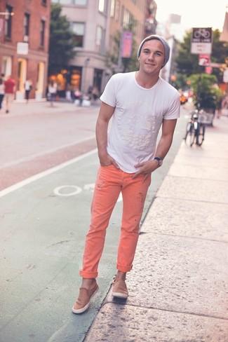 Slim Fit Canvas Varick Jean