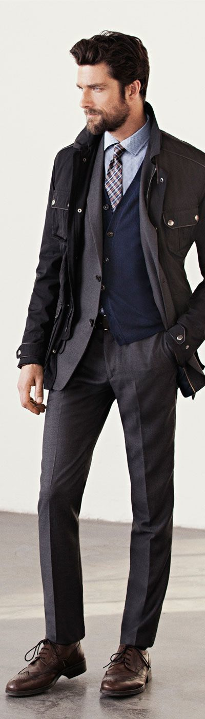 Collection Grey Pants Black Blazer Pictures - Kianes