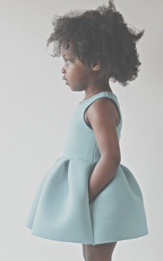 How to wear: mint dress
