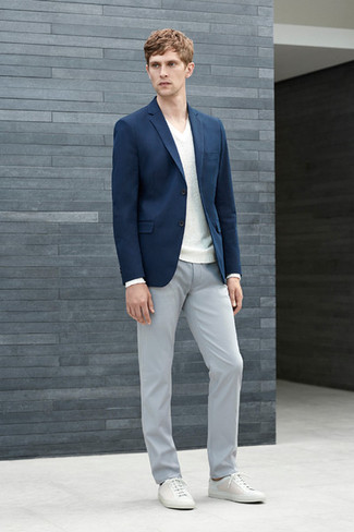 dark blue blazer light grey pants all the best blazer in. Black Bedroom Furniture Sets. Home Design Ideas