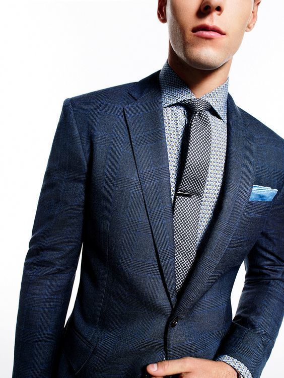 How to Wear a Navy Plaid Blazer (44 looks) | Men's Fashion