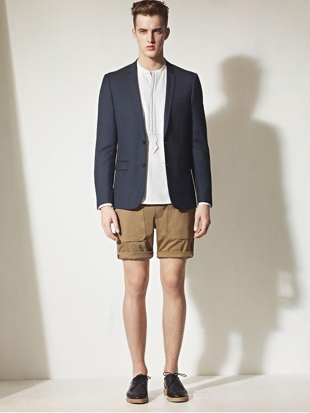 How To Wear Shorts With a Navy Blazer | Men's Fashion