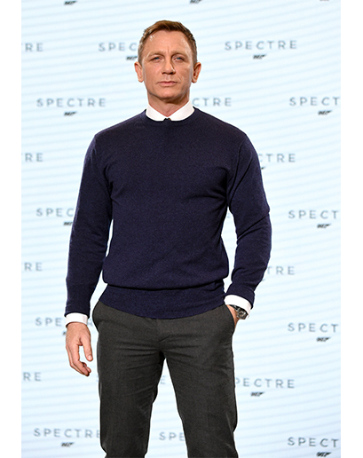 How To Wear a Navy Sweater With Charcoal Pants | Men's Fashion