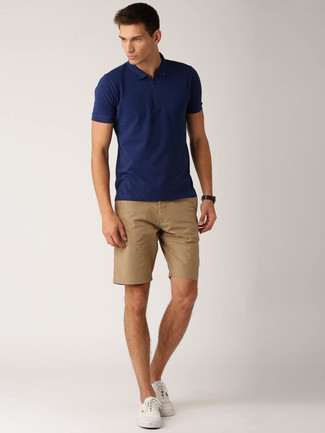 Which Polo To Wear With Beige Shorts | Men's Fashion