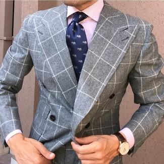 Mini Gingham Bond Dress Shirt
