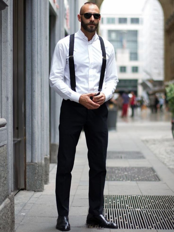 65e27d72974 How To Wear Black Oxford Shoes With a White Dress Shirt (109 looks ...