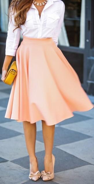 4b1decbbae Rochas Pleated Full Duchess Satin Skirt, £643 | MATCHESFASHION.COM ...