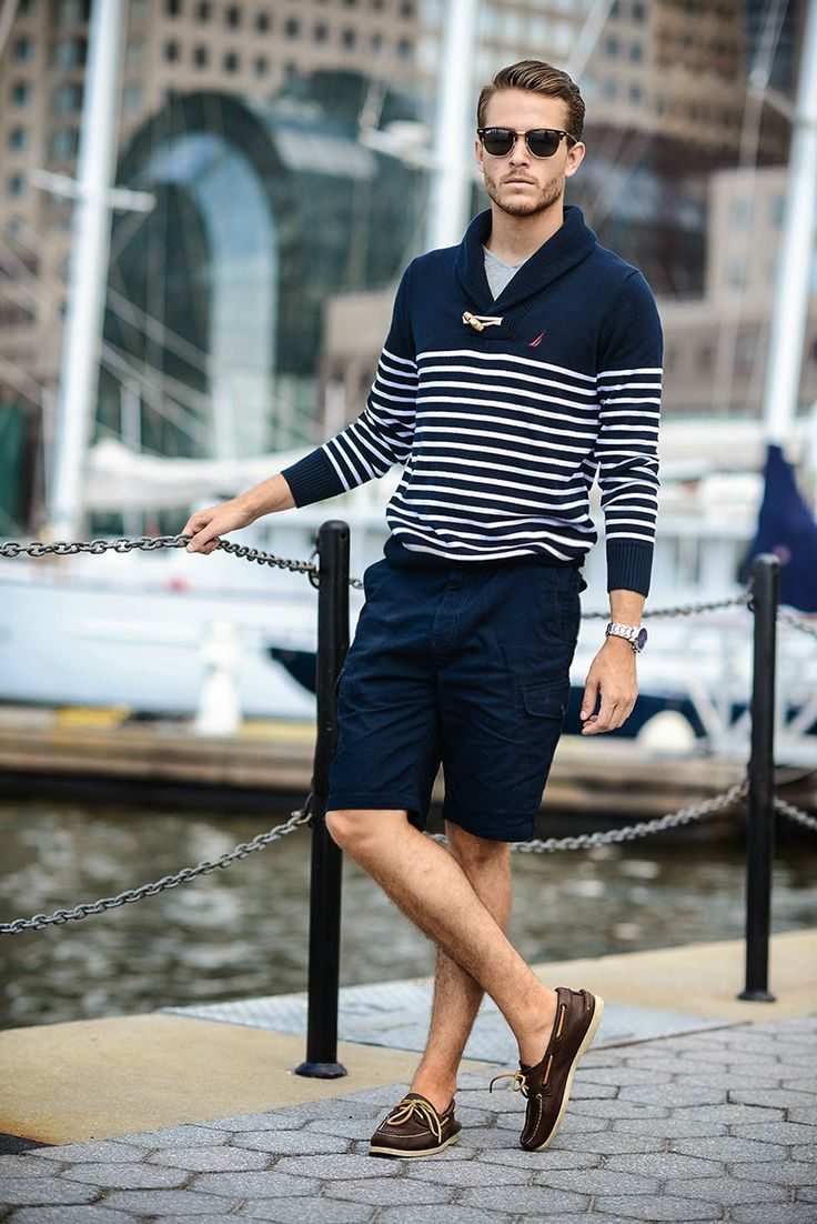 How to Wear Dark Brown Boat Shoes (62 looks) | Men's Fashion