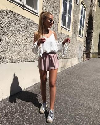 Looksamp; Fashion Pink Wear To Shorts34 How OutfitsWomen's 4jA35LqR