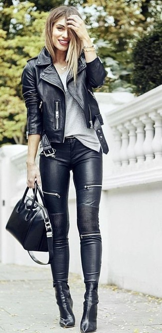 Brit Coated Skinny Jeans