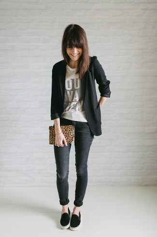 Fitted Buttoned Blazer