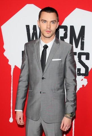 Suit dress shirt tie large 13774