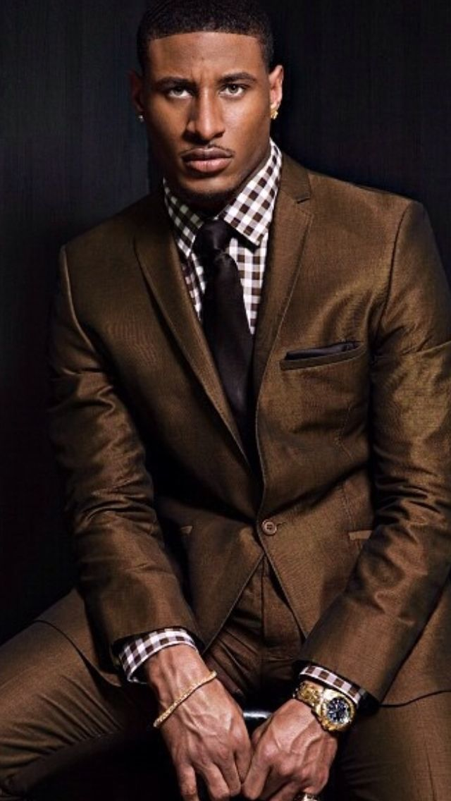 How to wear a brown suit dress yy for Mens chocolate brown shirt