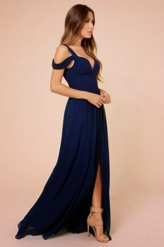 746365acfcf How to wear Asos Petite Maxi Dress With Crochet One Shoulder