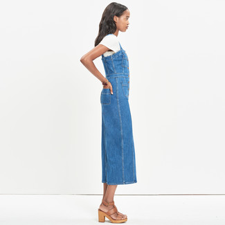 e2fc30a36dd Lee Bib Mini Overall Dress, £140 | Asos | Lookastic UK