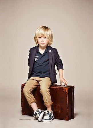 Boys Parker Modern Fit Stretch Trousers
