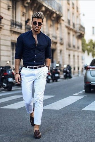 73db6c2833 How to Wear White Chinos (417 looks   outfits)