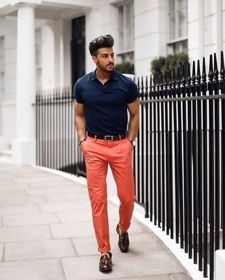 Straight Fit Five Pocket Pant