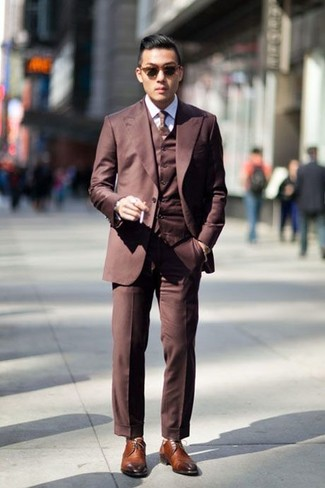 How to Wear Brown Dress Shoes (850 looks) | Men's Fashion
