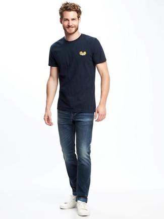 Gart Dyed Denim Jeans