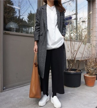 Tailored Wide Leg Cropped Trousers