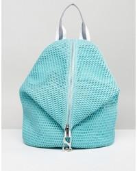 Asos Lifestyle Mesh Dogclip Backpack With Webbing Straps