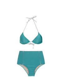 Metallic trimming bikini set unavailable medium 7409939