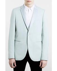 Slim fit mint tuxedo jacket medium 220909