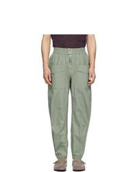 Mint Cargo Pants