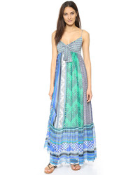 Mint Chiffon Maxi Dress