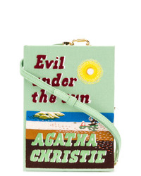 Olympia Le-Tan Evil Under The Sun Strapped Book Clutch