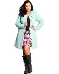 City Chic Princess Coat