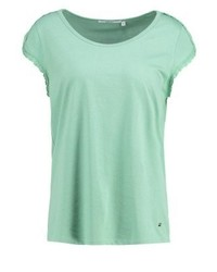 Lynette print t shirt green medium 3895360