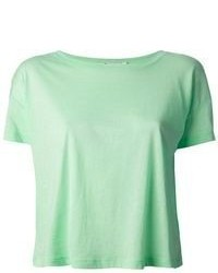 Alexander Wang T By Cropped T Shirt